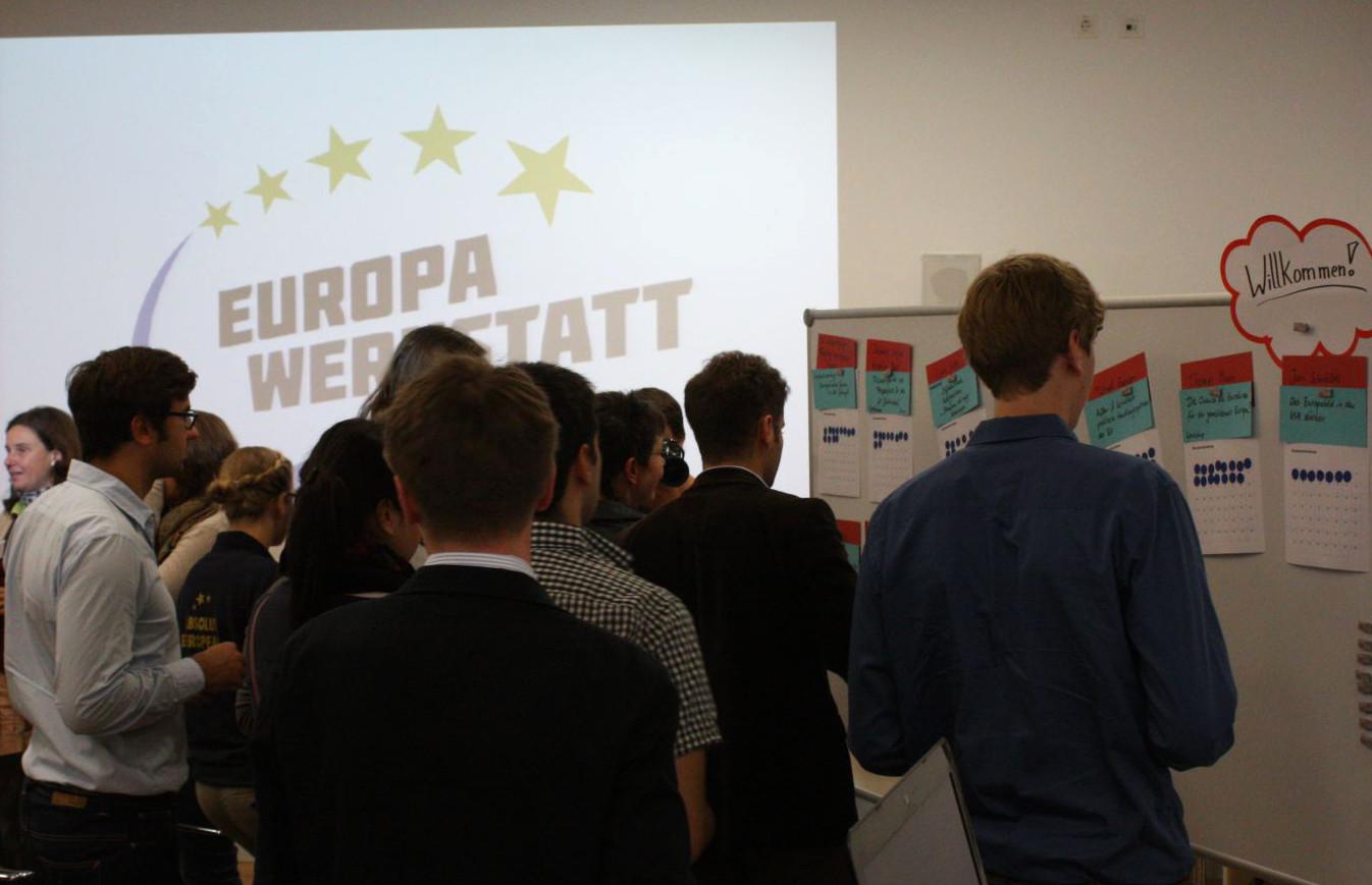 Das war die Europawerkstatt 2012 in Bildern